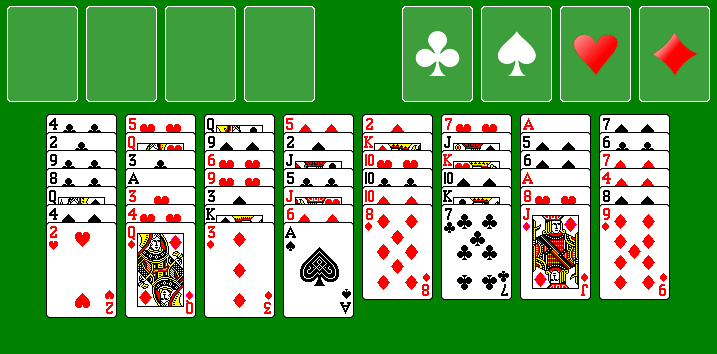 Freecell Deal No. 24